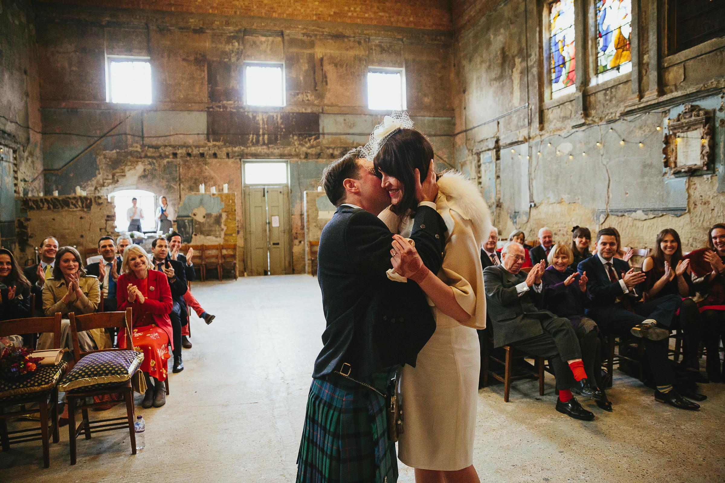 ruined chapel wedding london