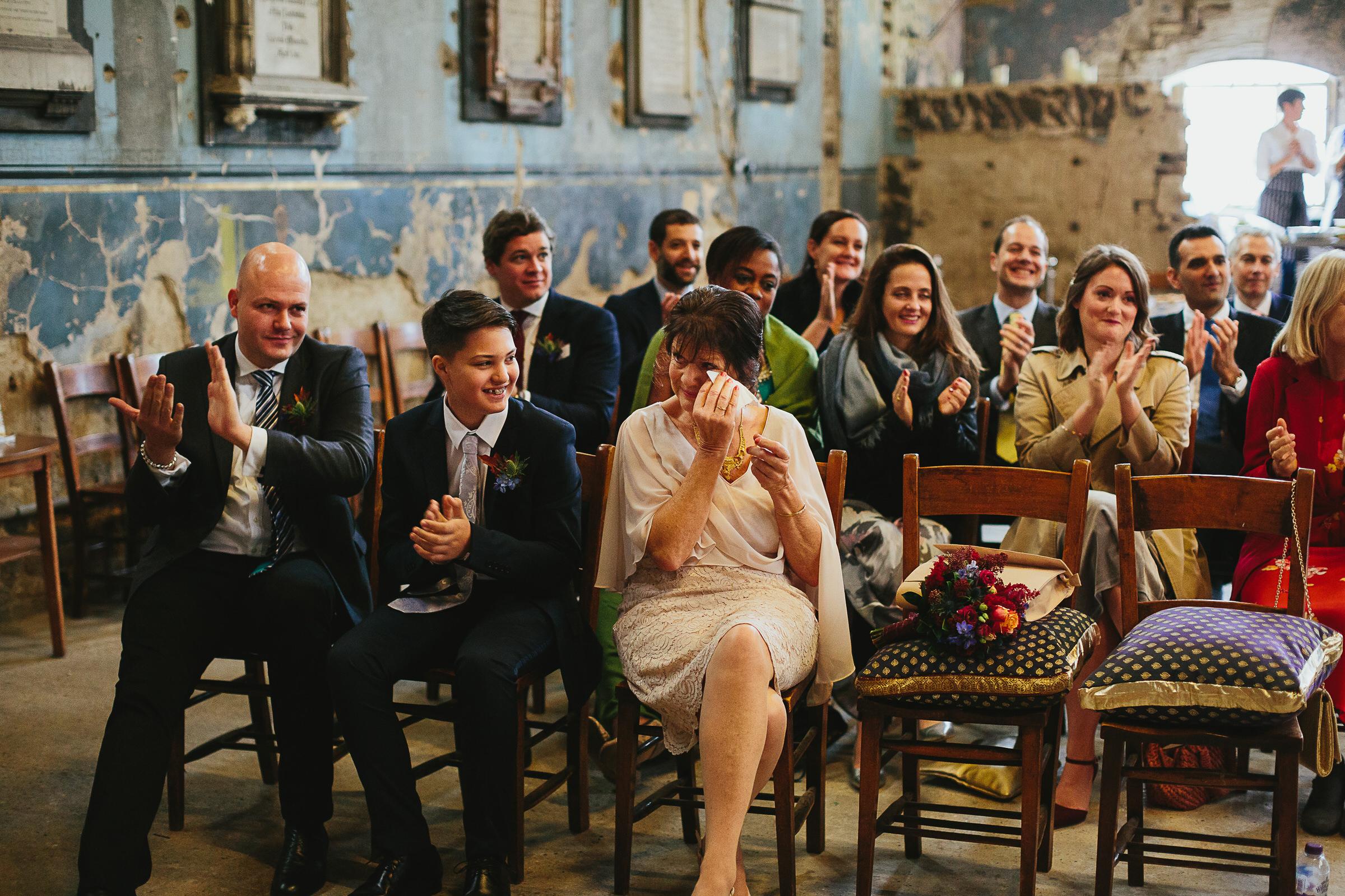 Asylum Wedding - Hayley & Dan