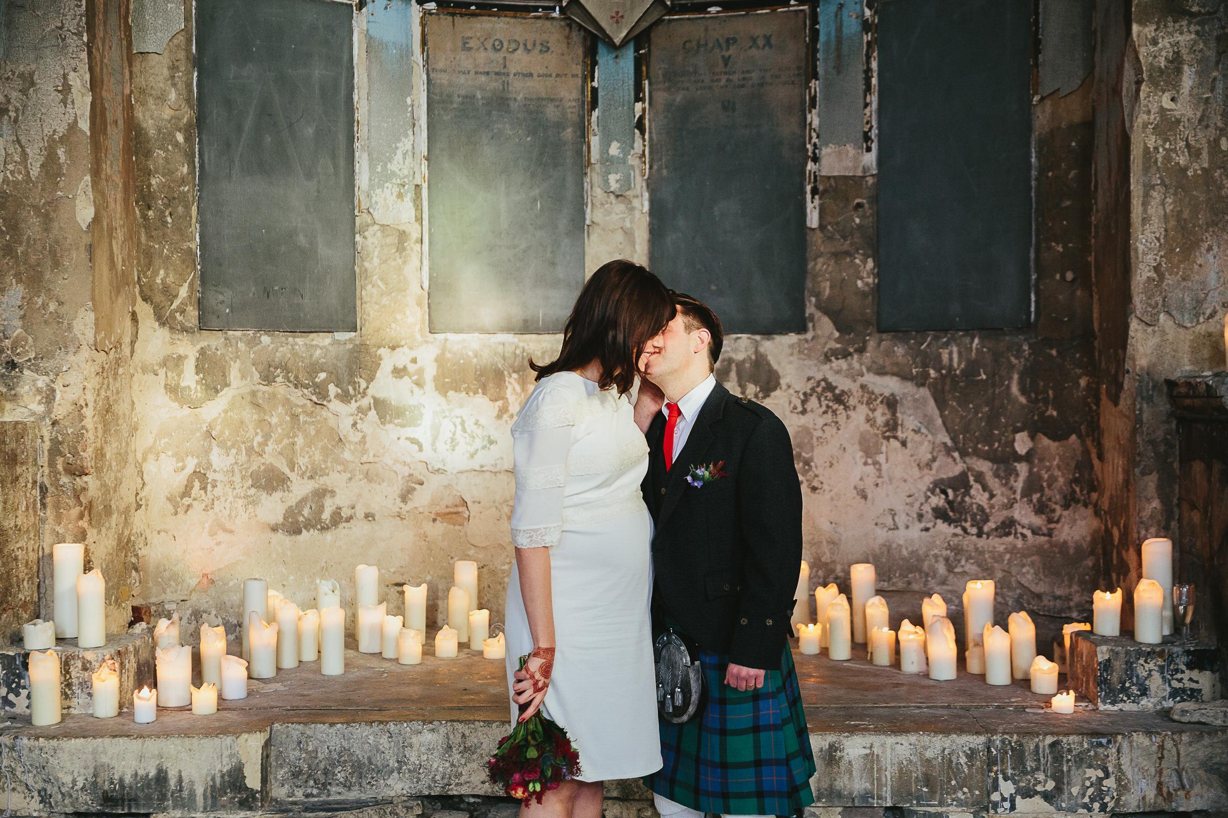 candlelit wedding London