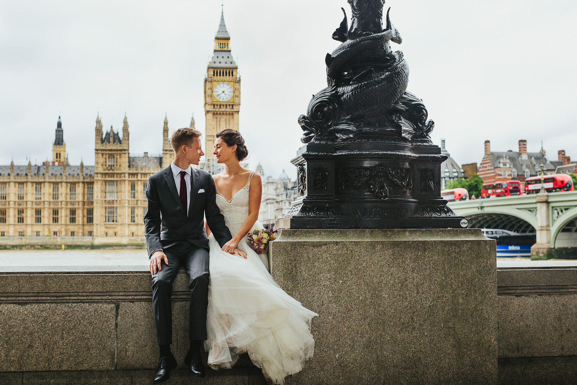 Big Ben wedding photoshoot