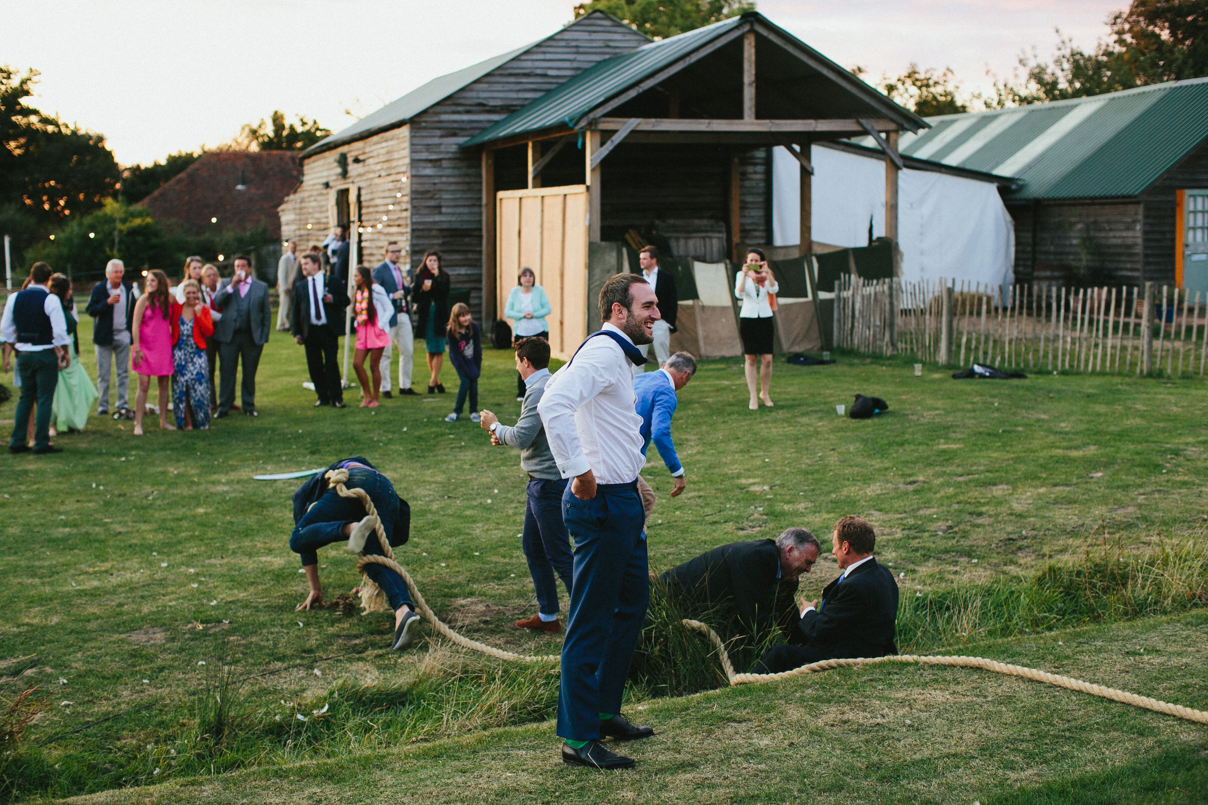 Festival Wedding Photographer - Sam & Ant