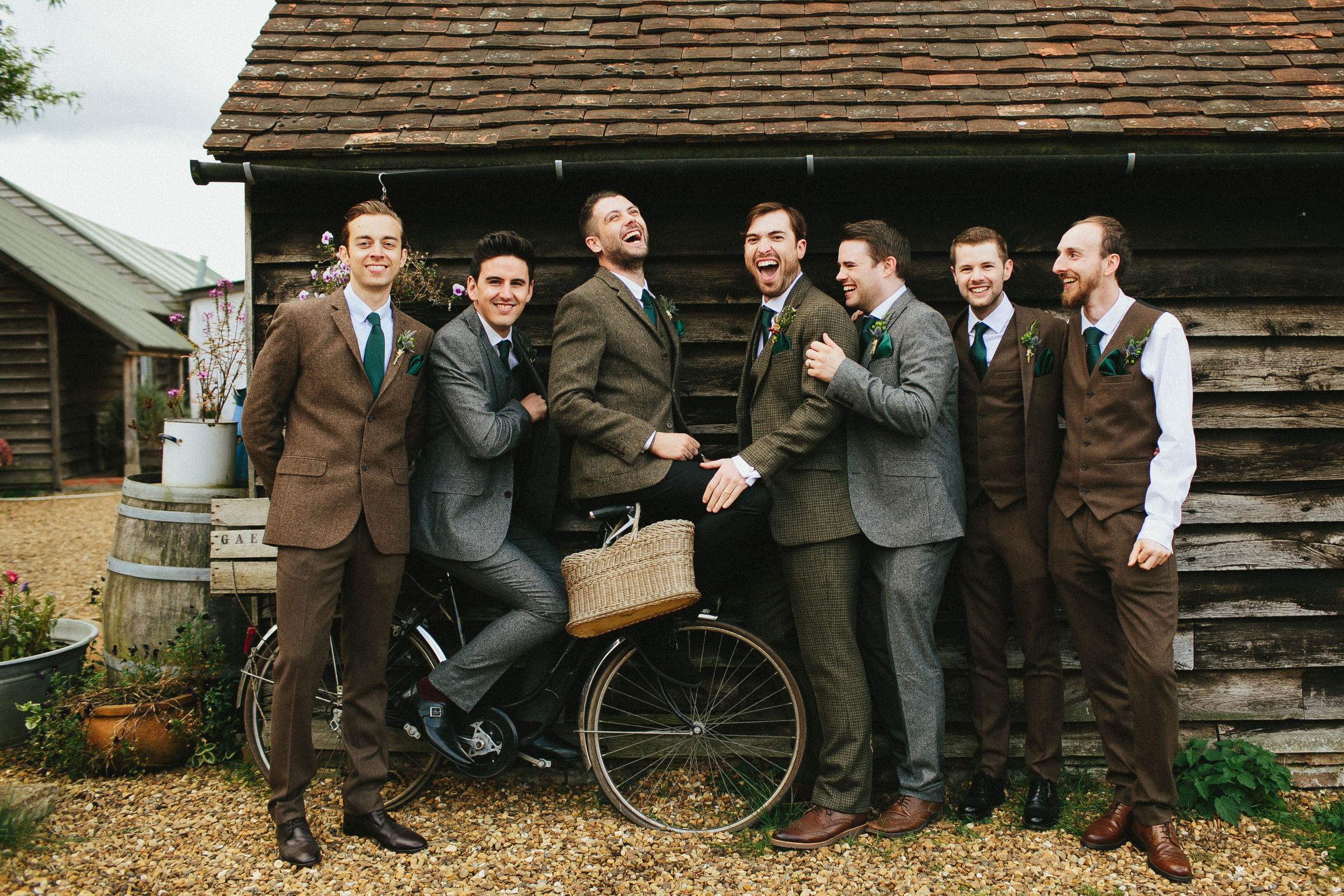 tweed groomsmen