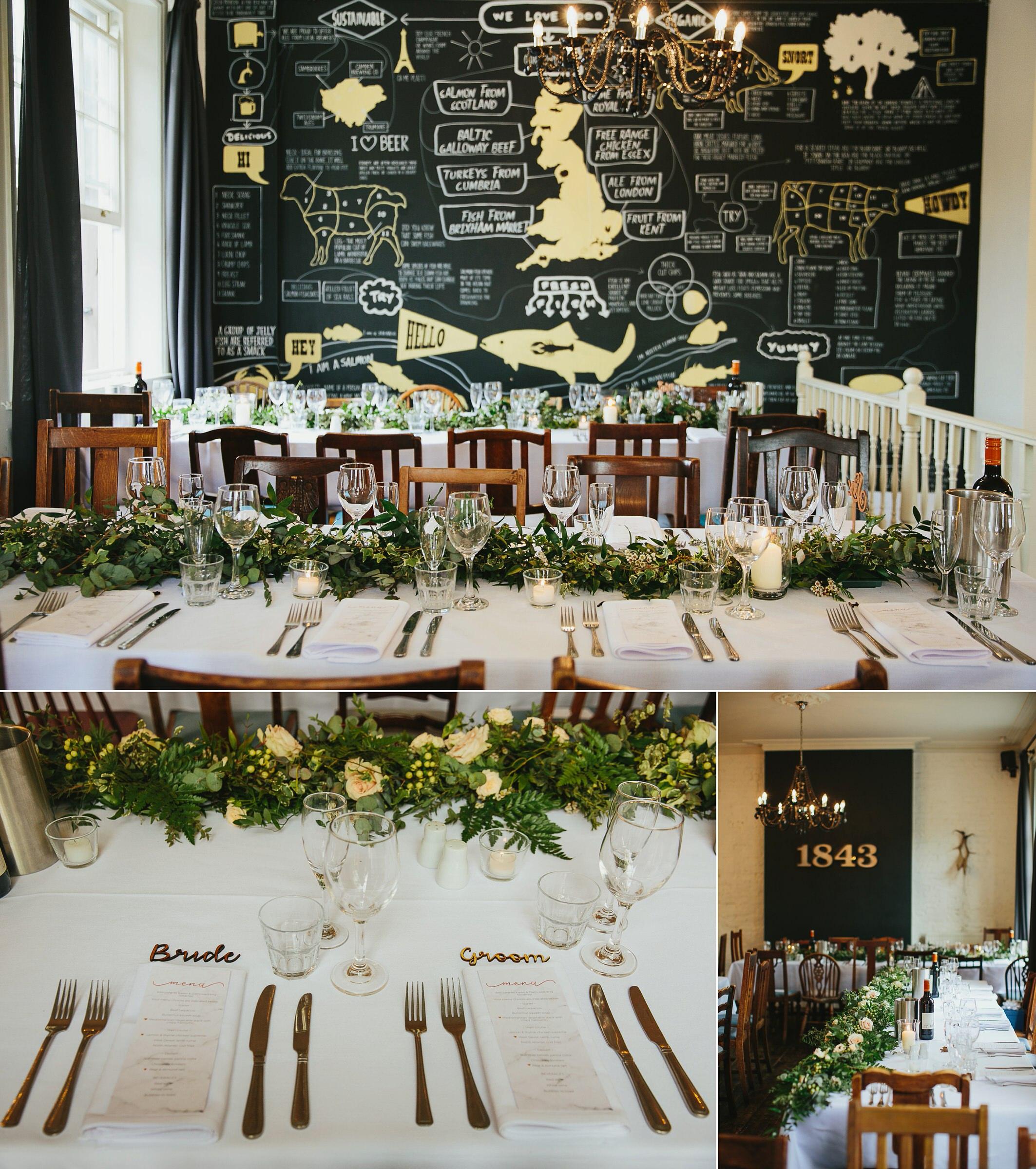 wedding greenery