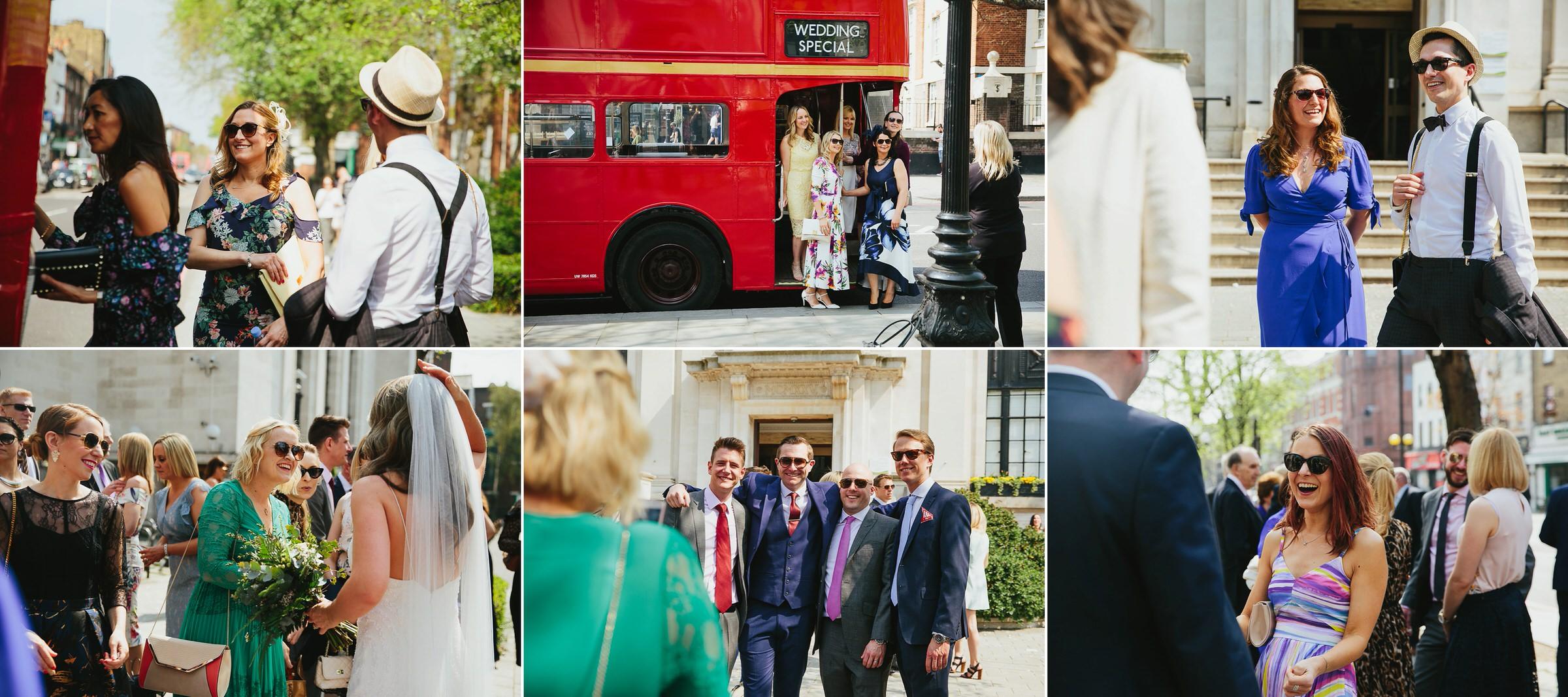 Prince Albert pub wedding - Karen & Dan