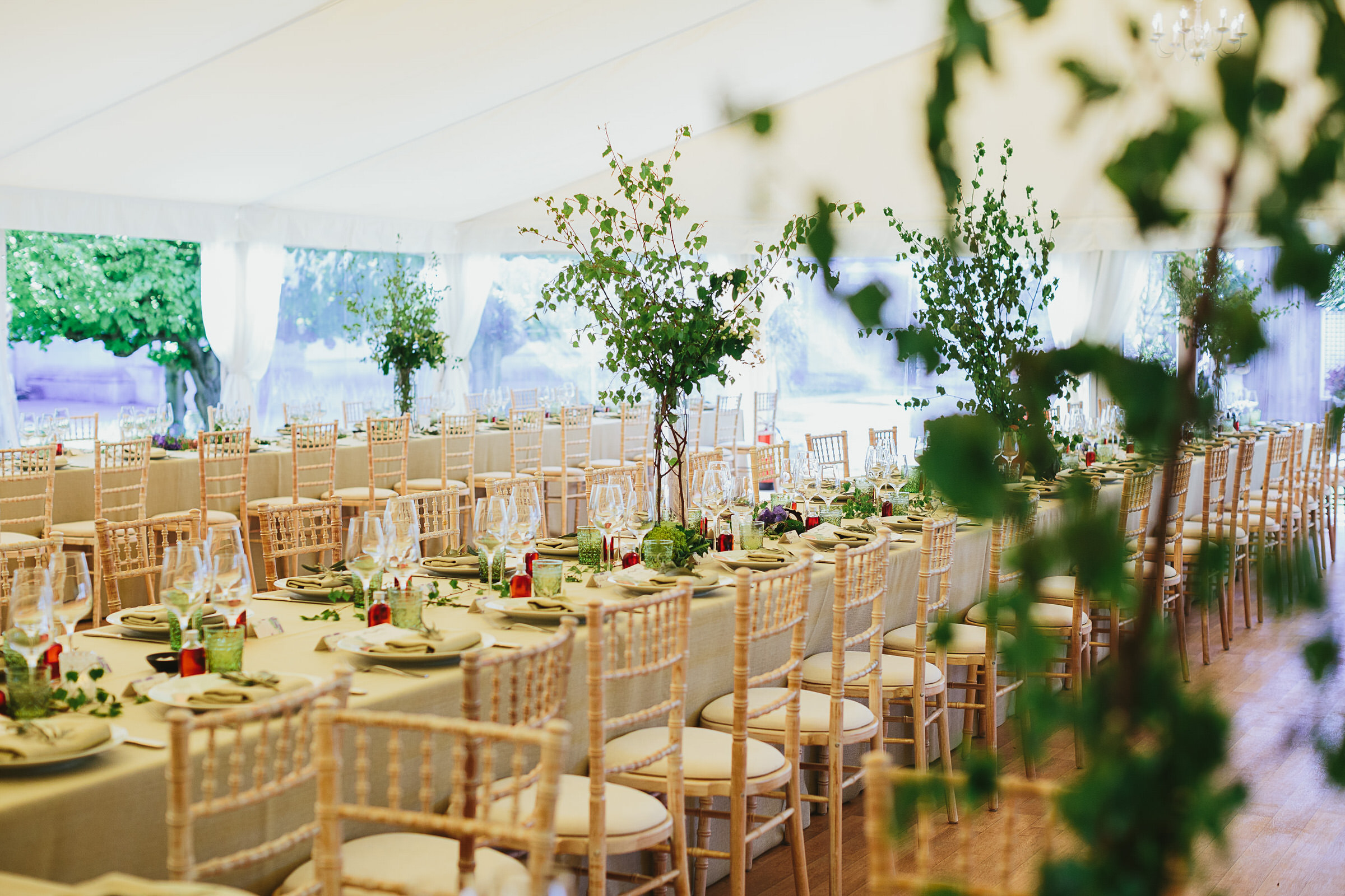 Chiswick House marquee