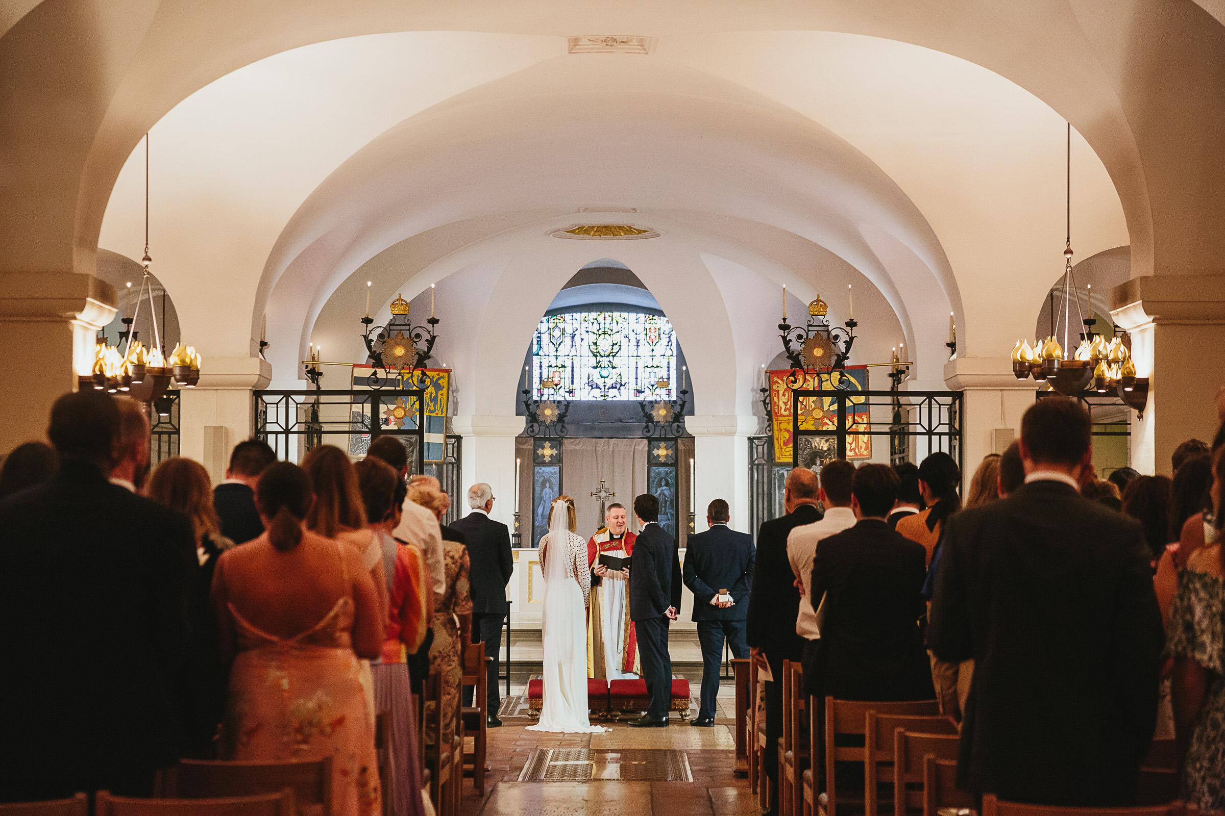 OBE Chapel London wedding