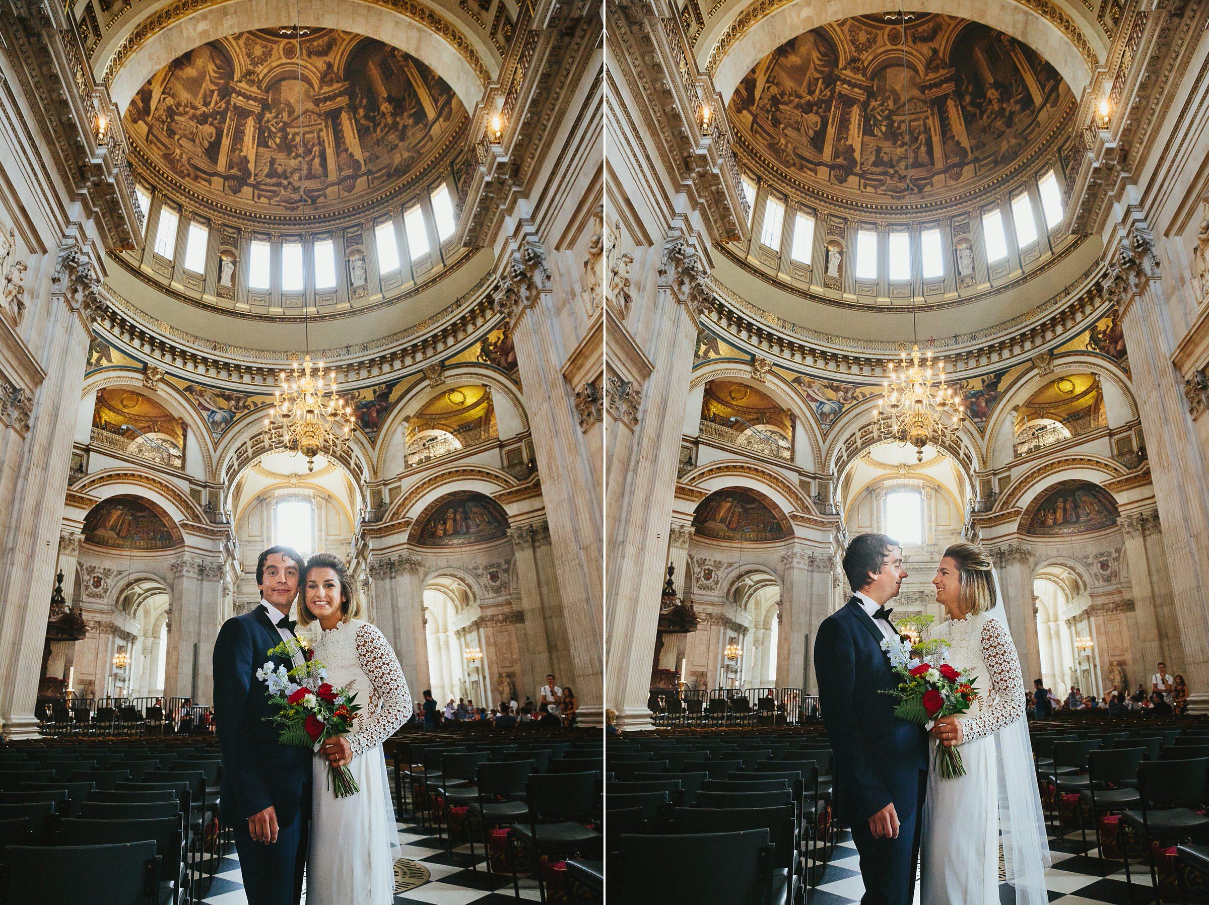 st pauls london wedding