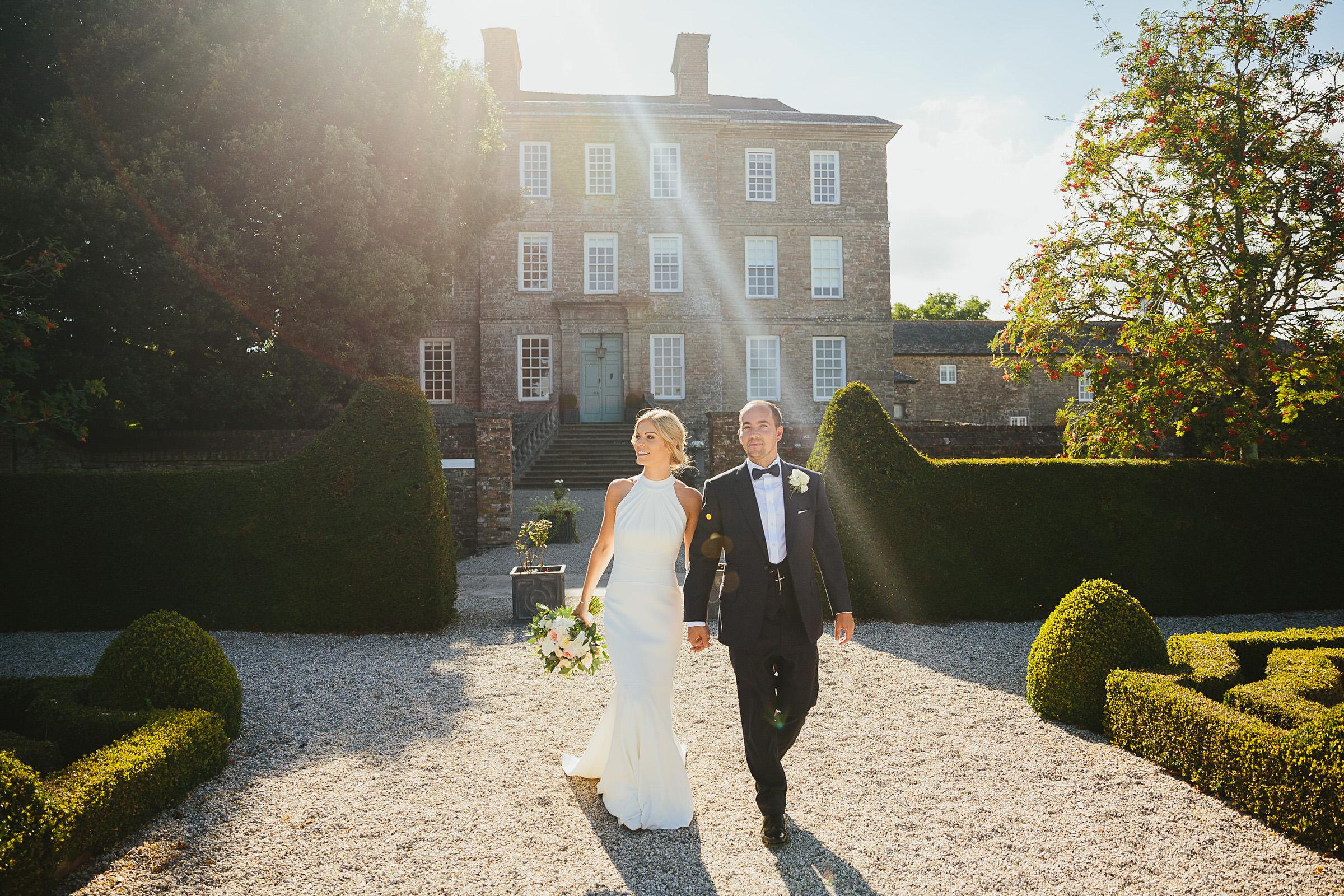 Devon stately home wedding venue