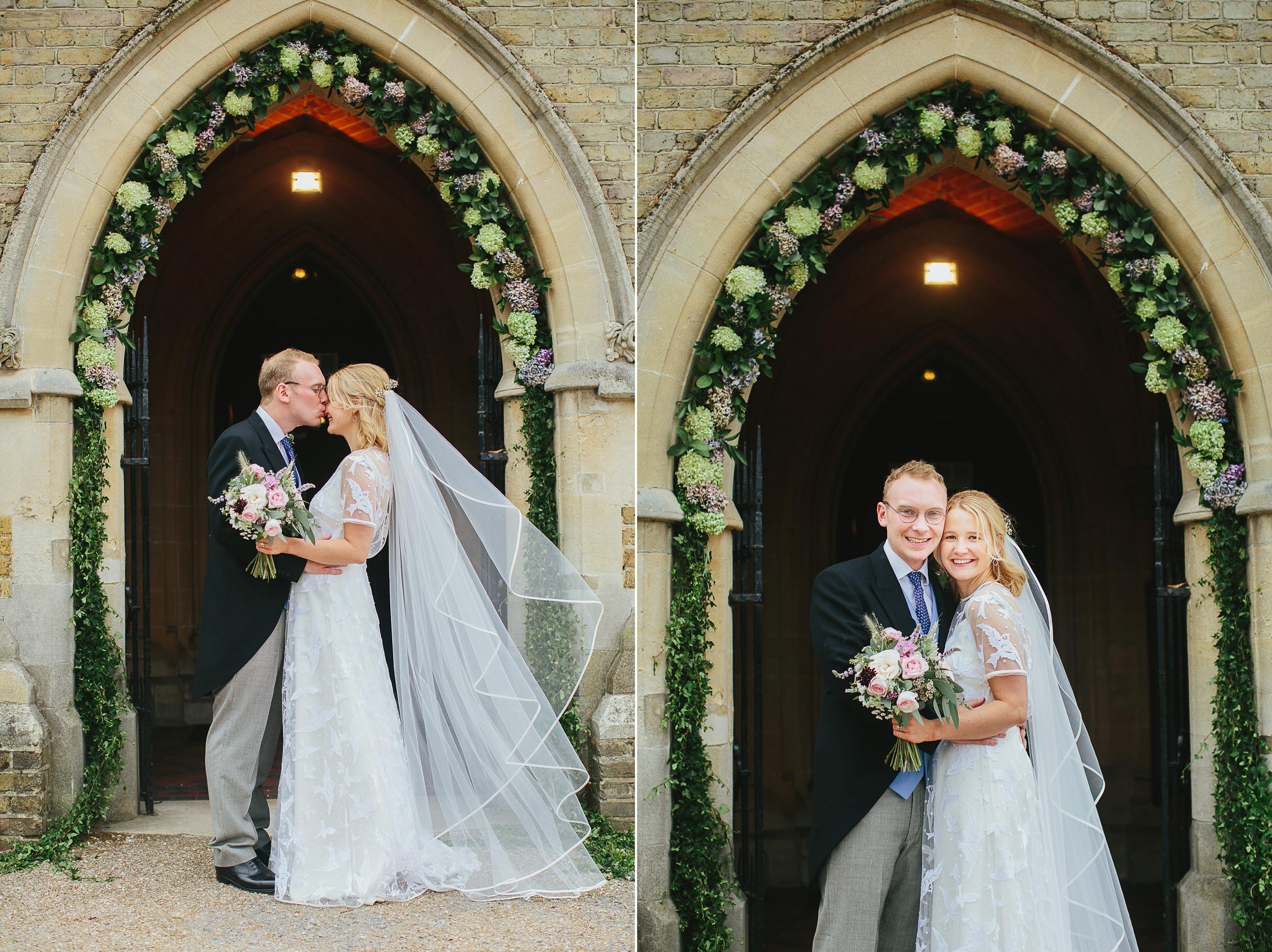 flower arch wedding london