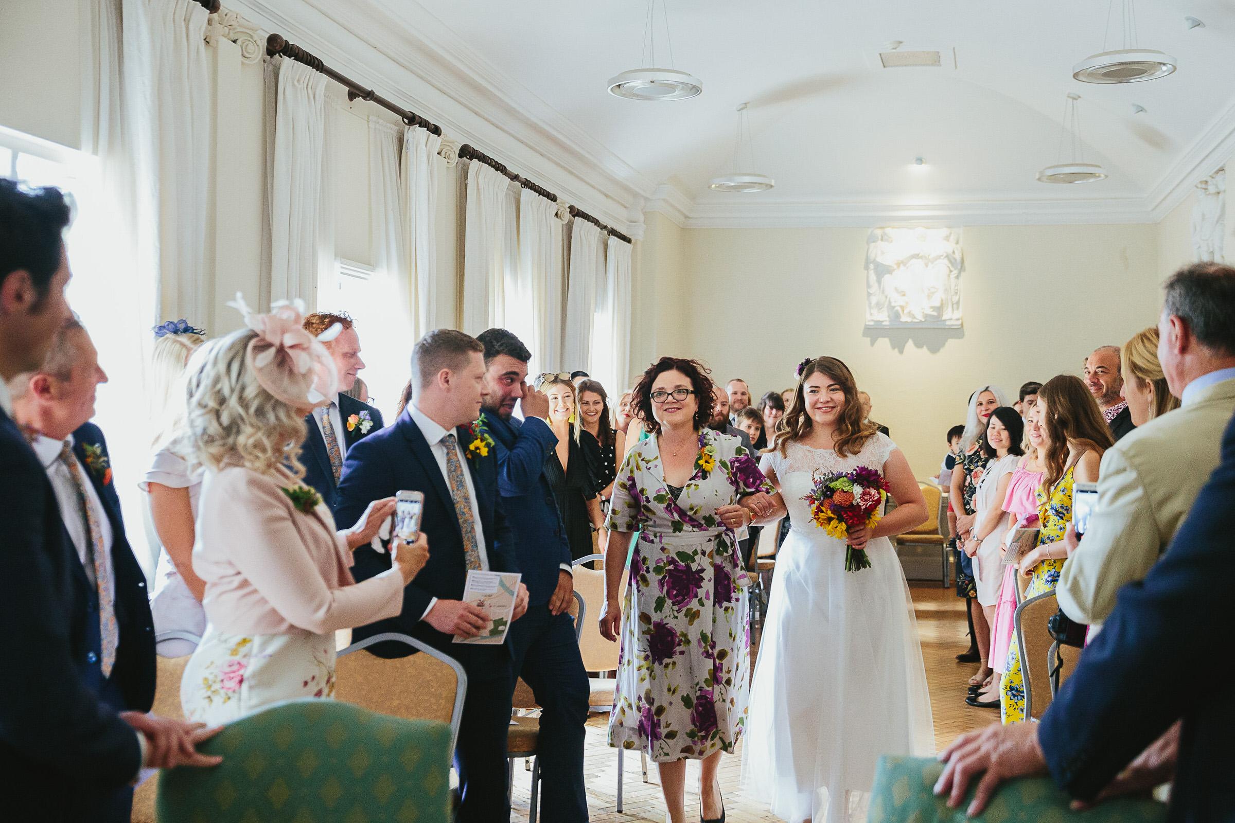 York House wedding - Freddie & Ollie