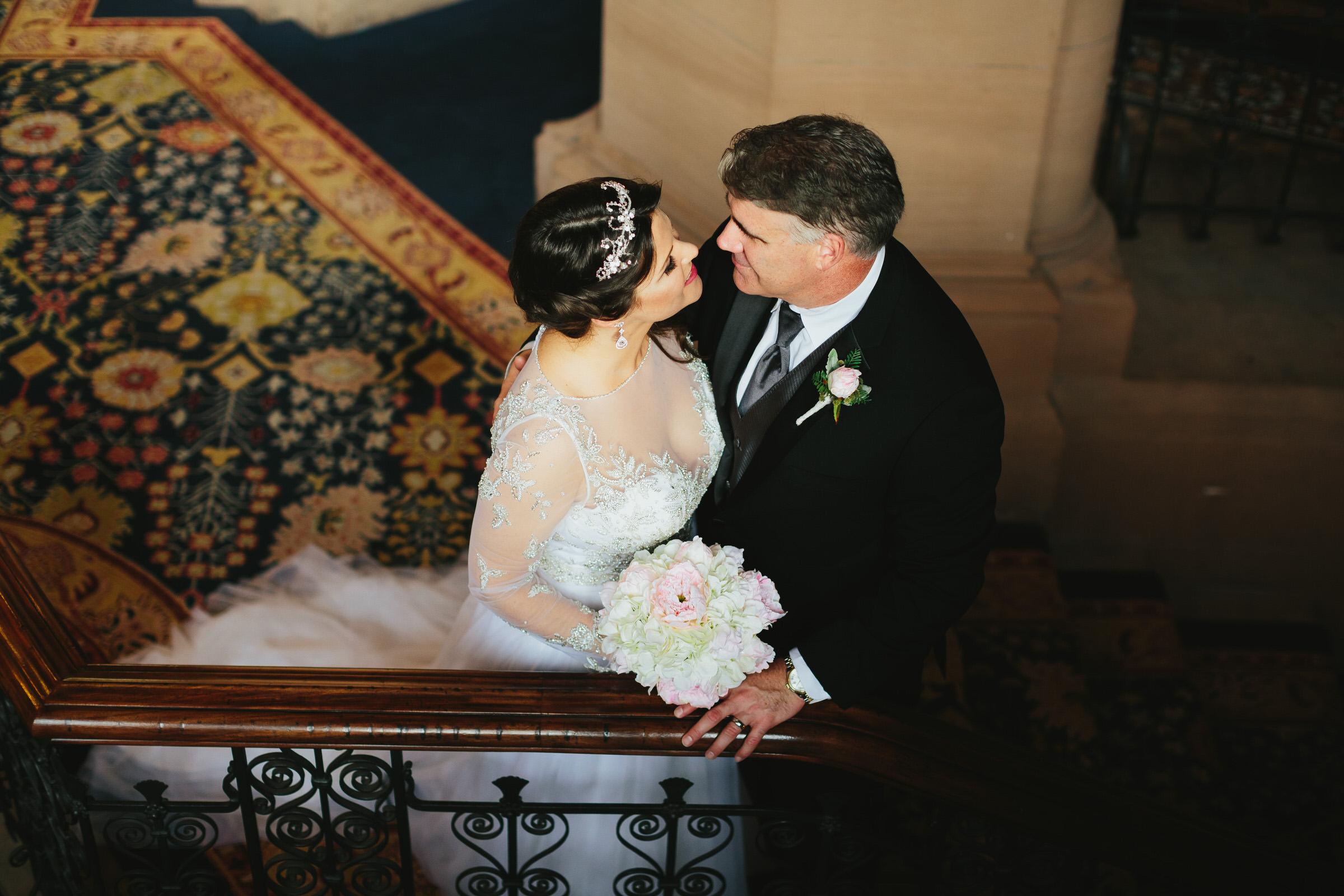 St Pancras Renaissance Hotel wedding - Lee & Bo