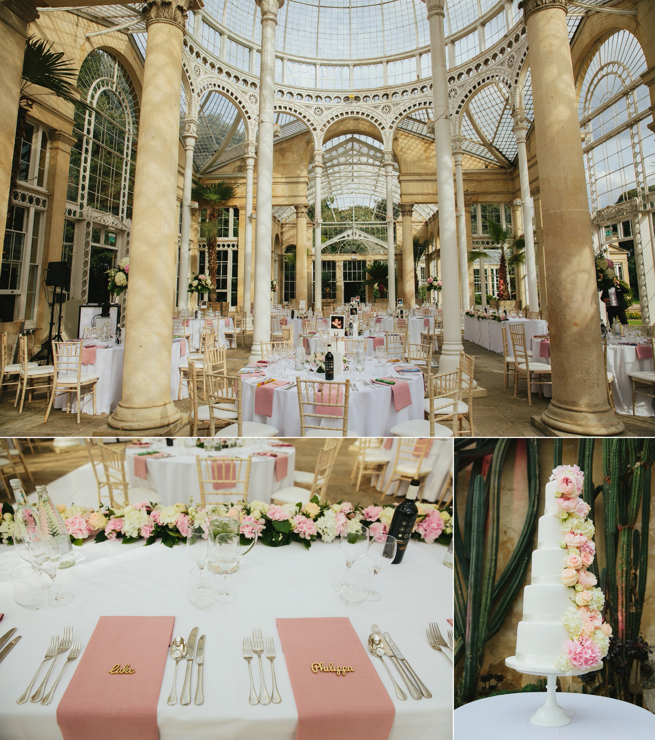 Syon Park wedding photographer - Pip & Luke