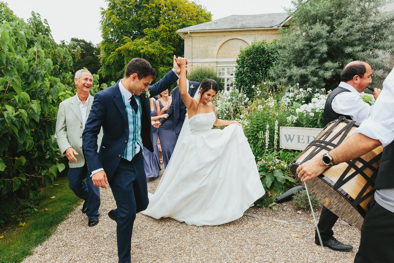 Firle Place Wedding - Nina & Chris