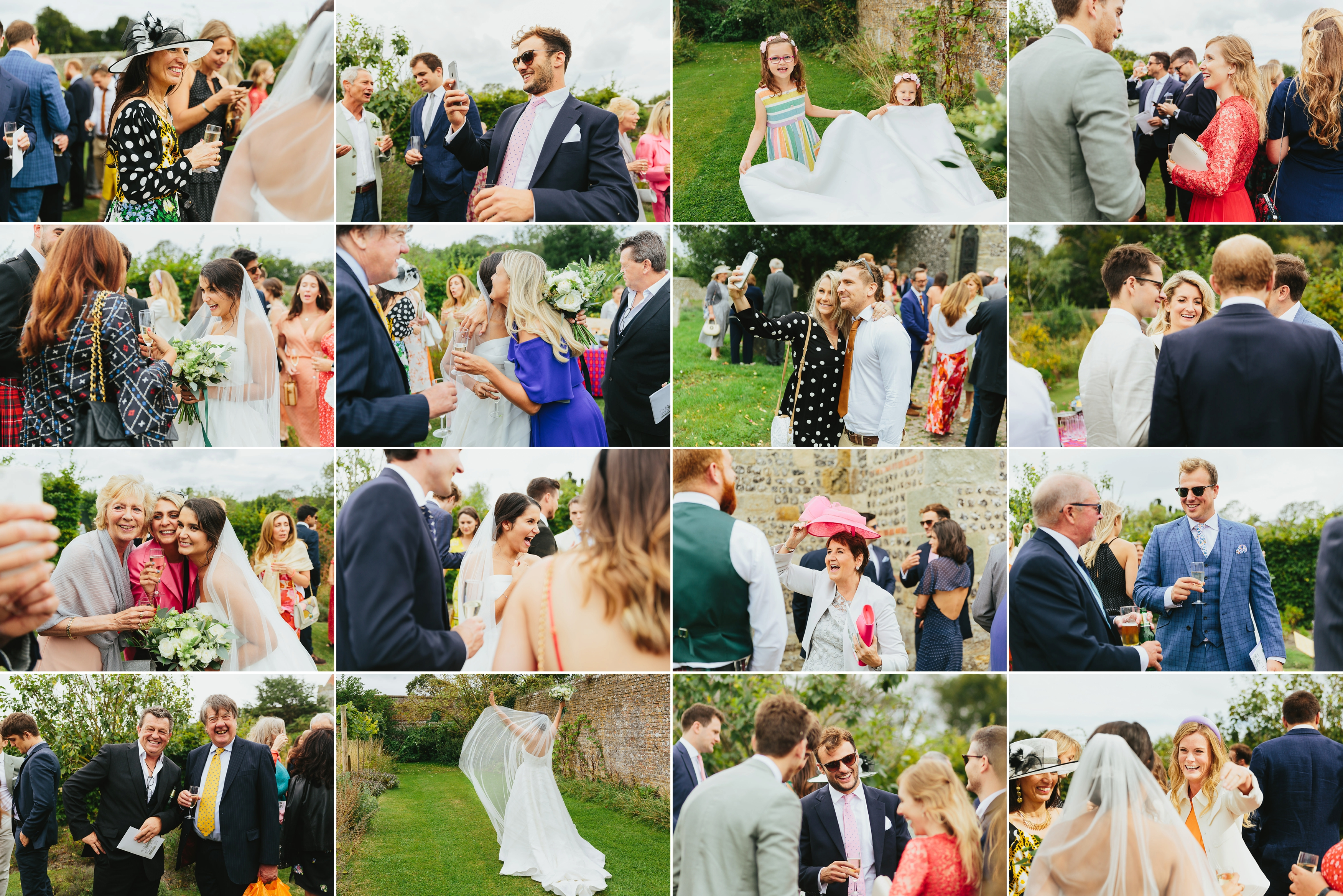 Firle Place Wedding - Nina & Chris
