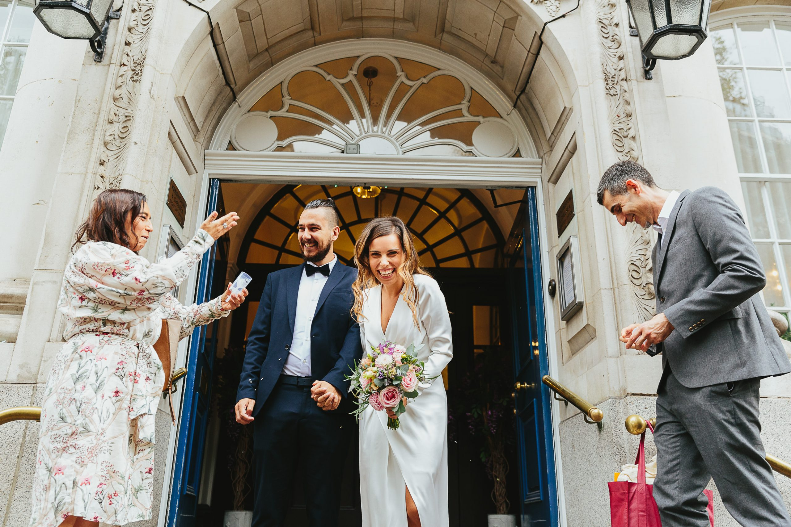 Chelsea Town Hall elopement - Maria & Jorge