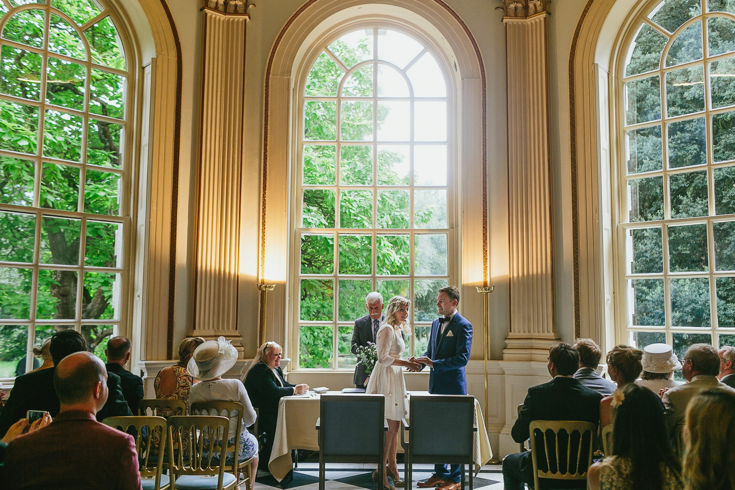 orleans house gallery wedding ceremony