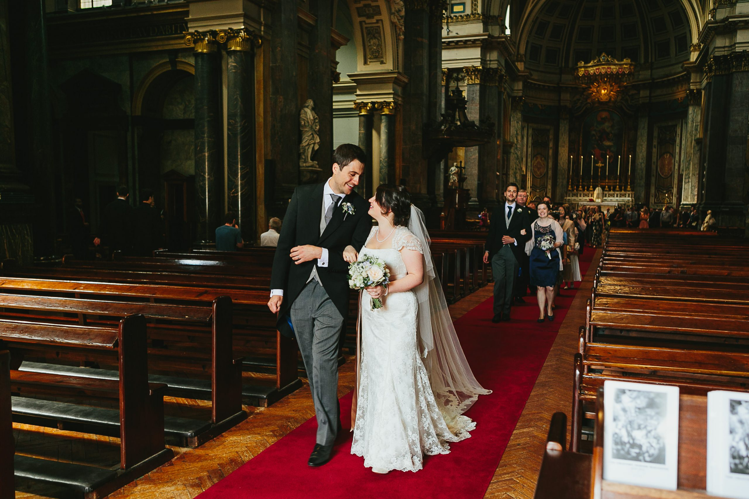 Brompton Oratory Wedding - Helen & Joe