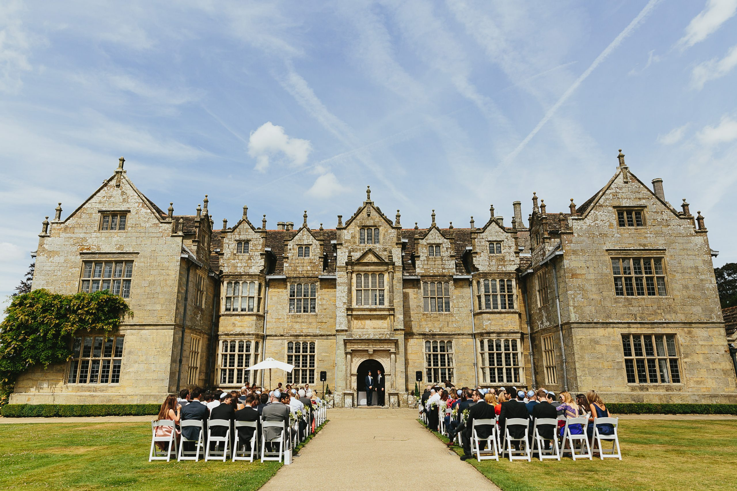 wakehurst place outdoor wedding
