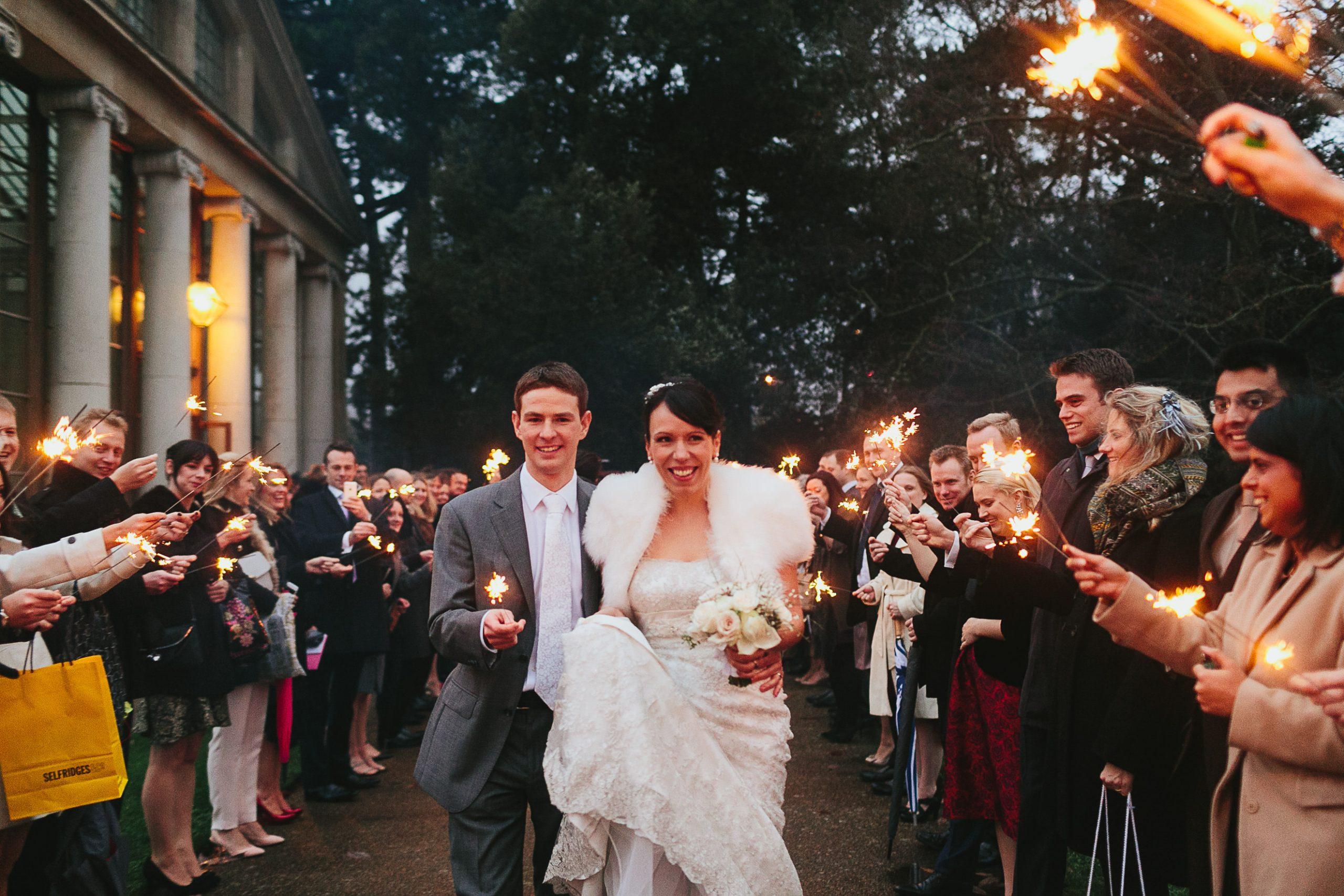 winter wedding kew