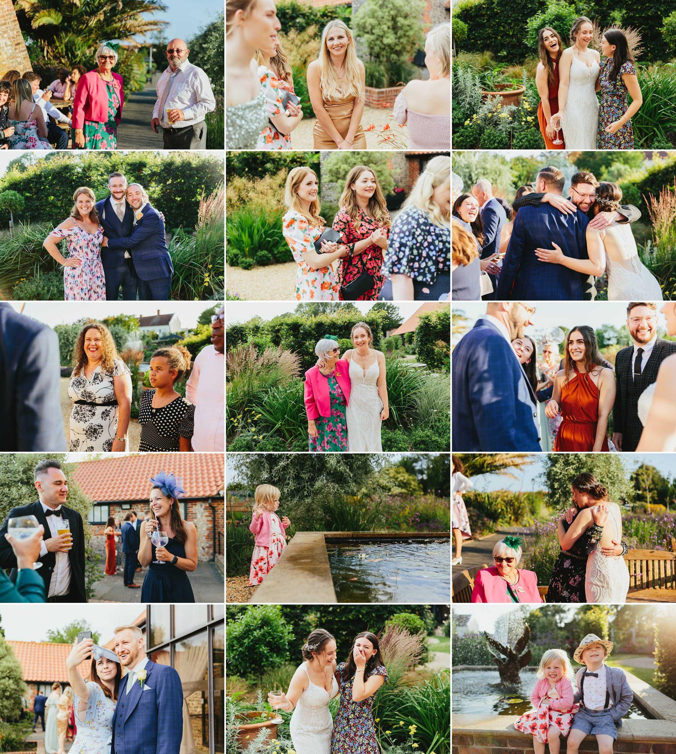 field place wedding reception