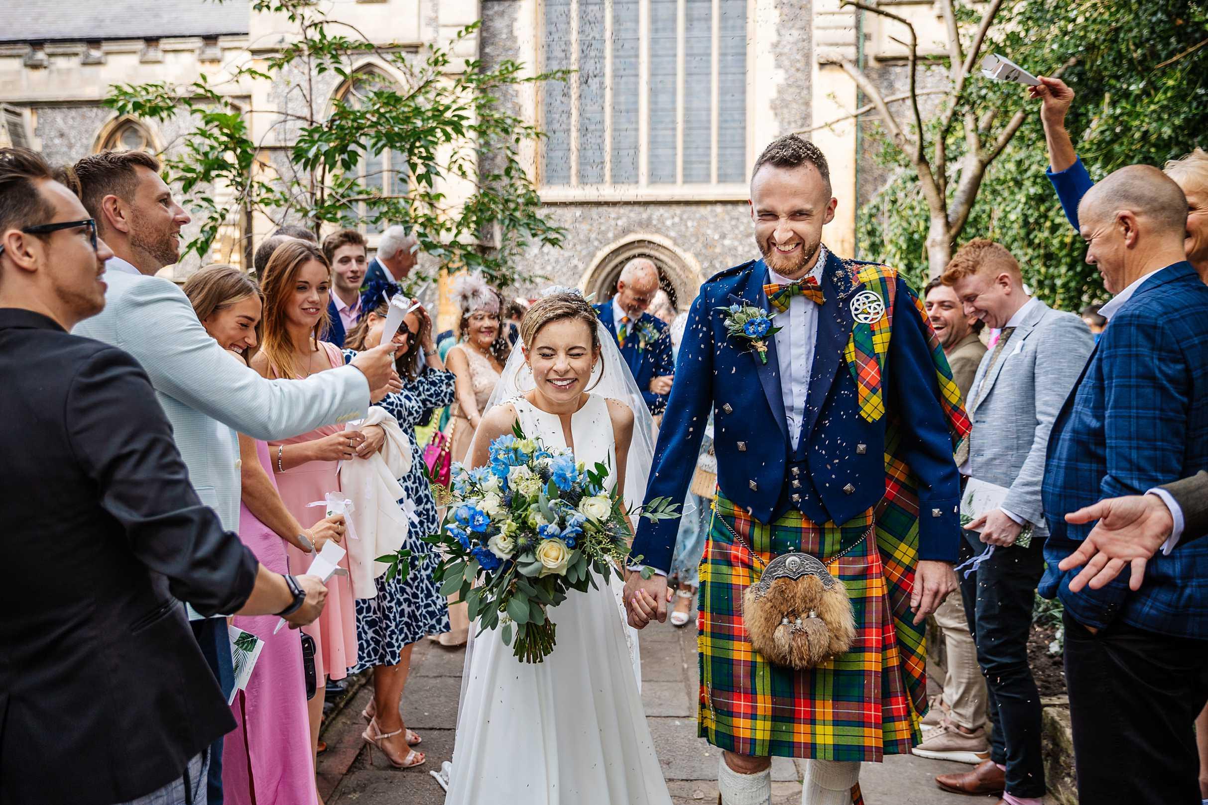 RHS Wisley Wedding - Emily & Peter