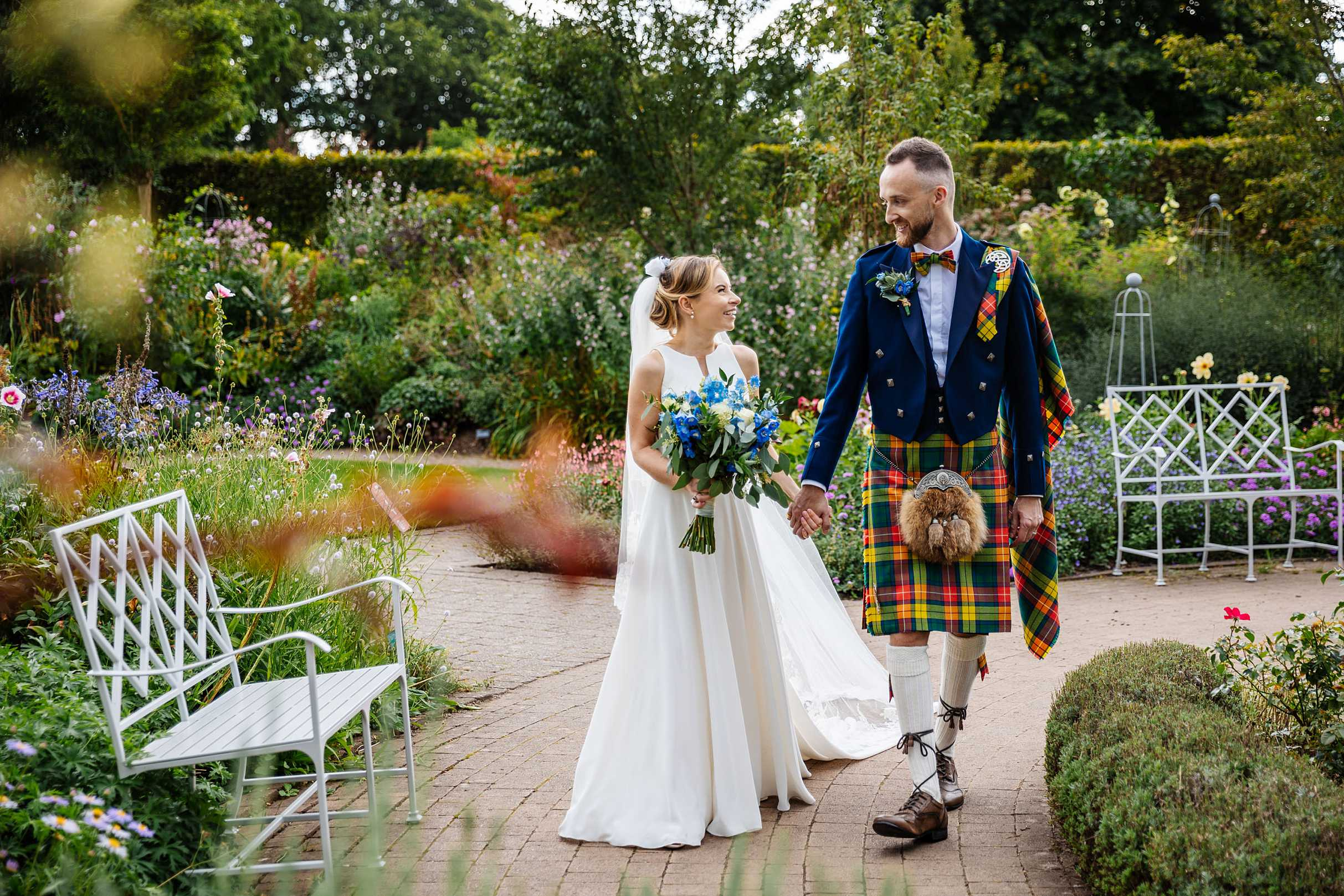 wisley wedding