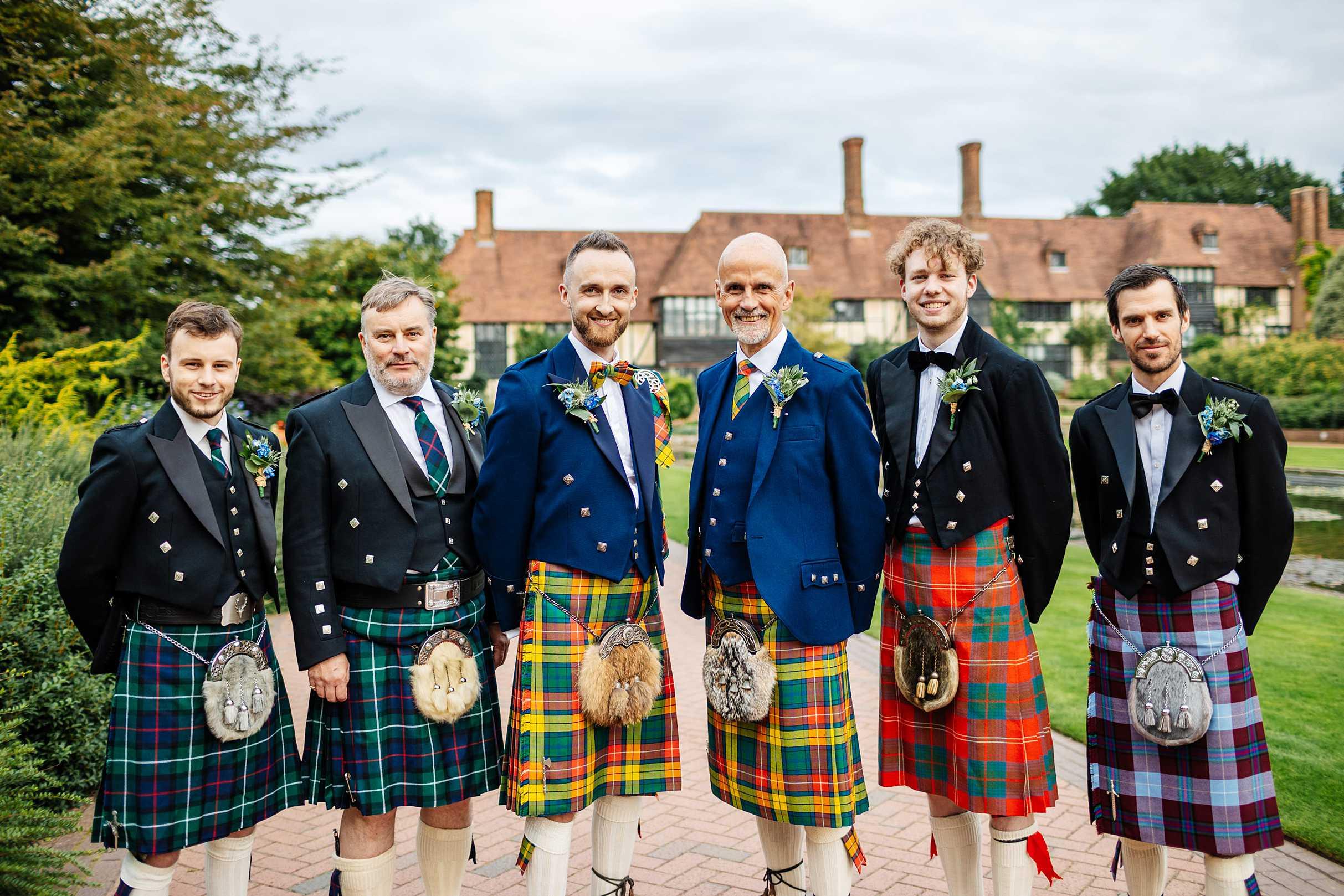 scottish kilt wedding